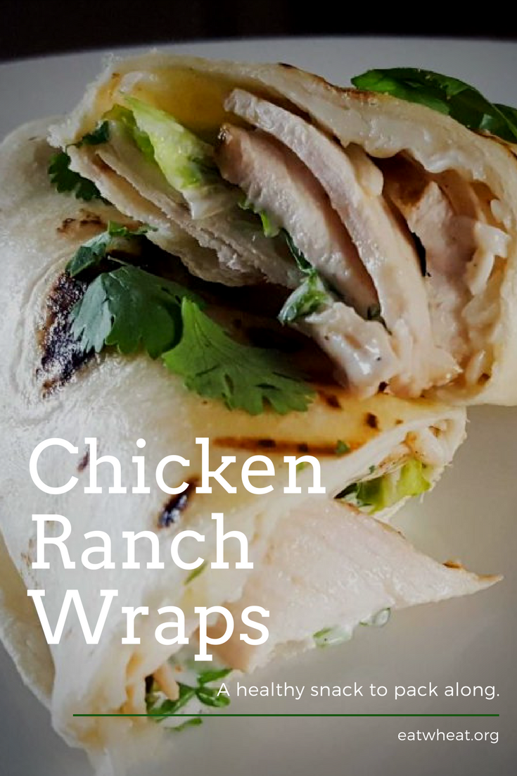 Chicken Ranch Wraps are a great and easy addition to your family's menu!