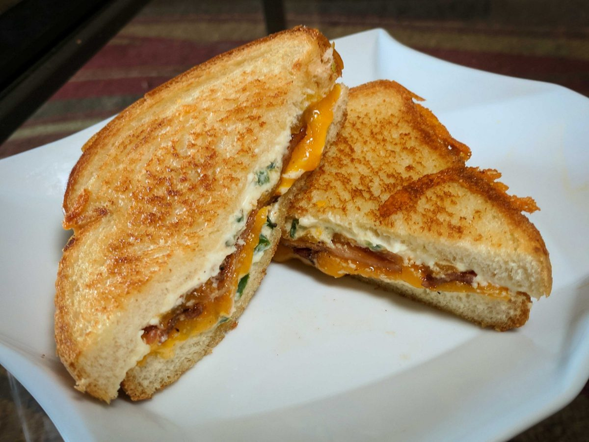 This jalapeño popper grilled cheese is sure to be a hit at your next backyard BBQ or surprise in-law visit. Keep this flavorful sandwich on hand when you need to quickly steal the show!