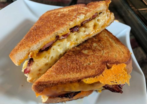 Grilled Mac and Cheese Sandwich is a thing, and your life will be forever changed. This is a surefire hit for the whole family, so don't expect much conversation over dinner… Those kiddos will be too busy eating to talk about their day!