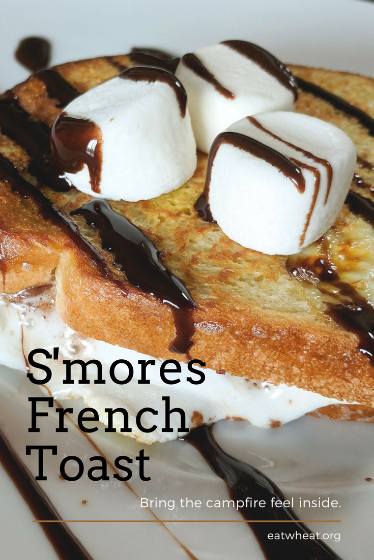 S'mores French Toast is the tastiest way to bring the campfire inside!