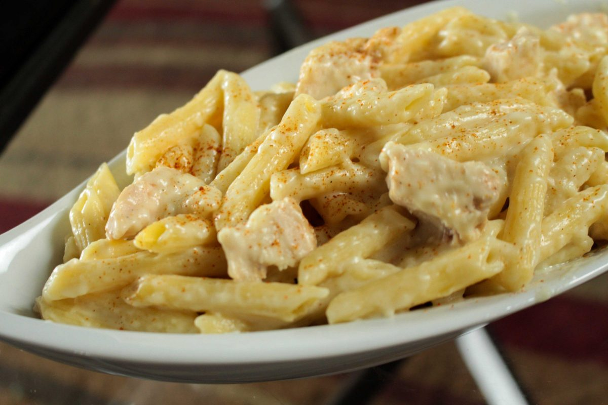 Chicken and penne pasta is a simple dish with endless flavor profiles available with small tweaks of the ingredients.