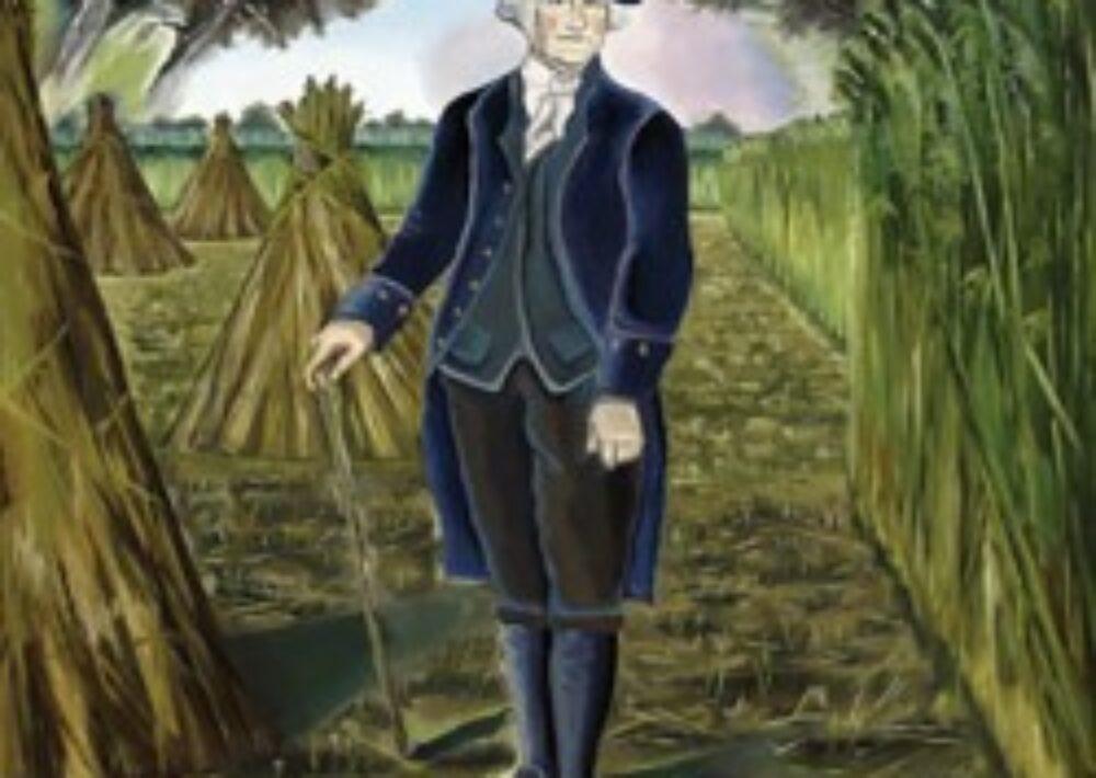 George Washington loved his farm at Mount Vernon. Image from mountvernon.org.