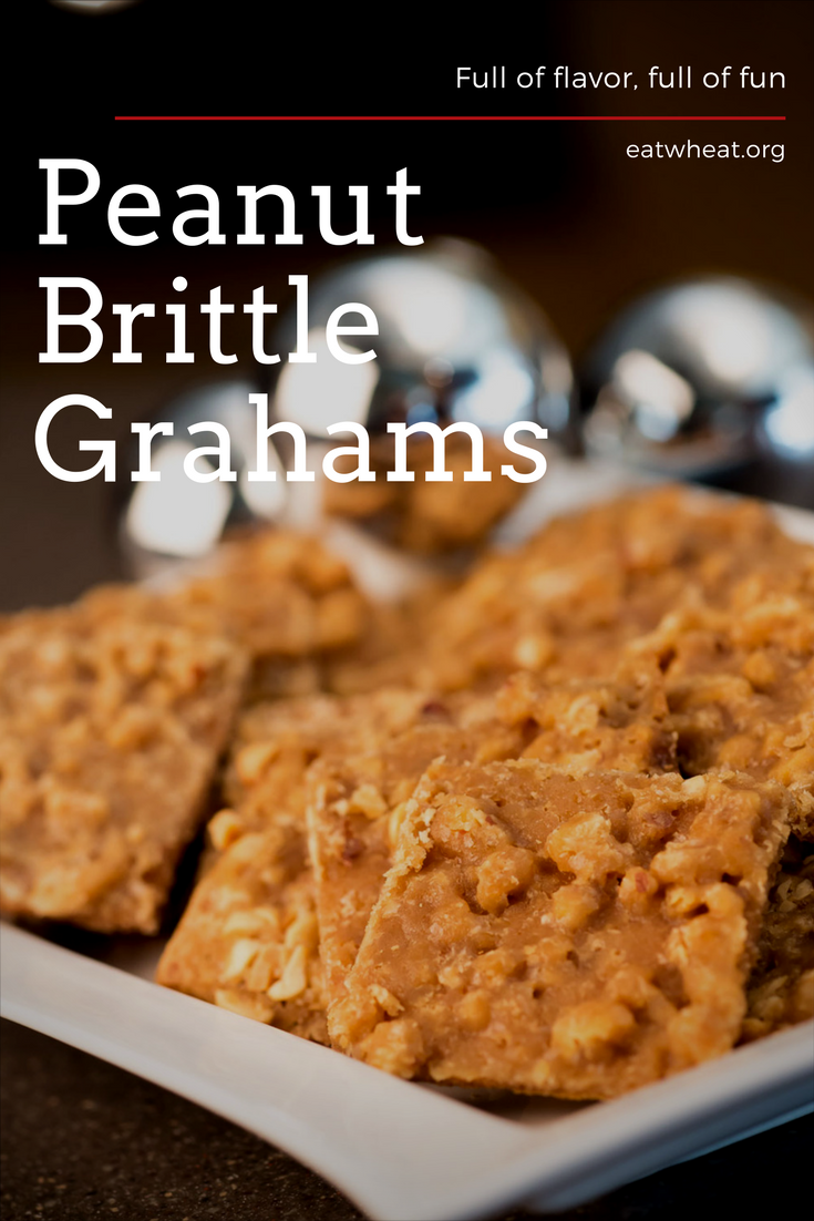 Peanut Brittle Grahams are the ultimate way to spread joy this holiday season.