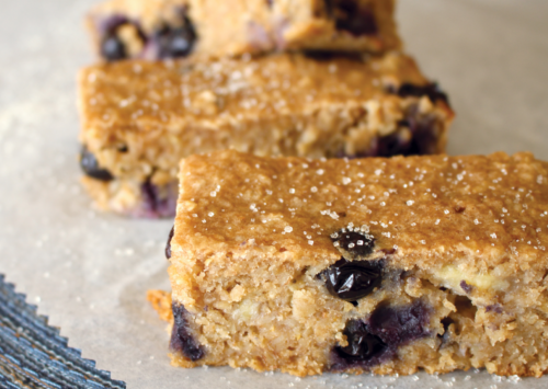 Blueberry Banana Breakfast Bars.