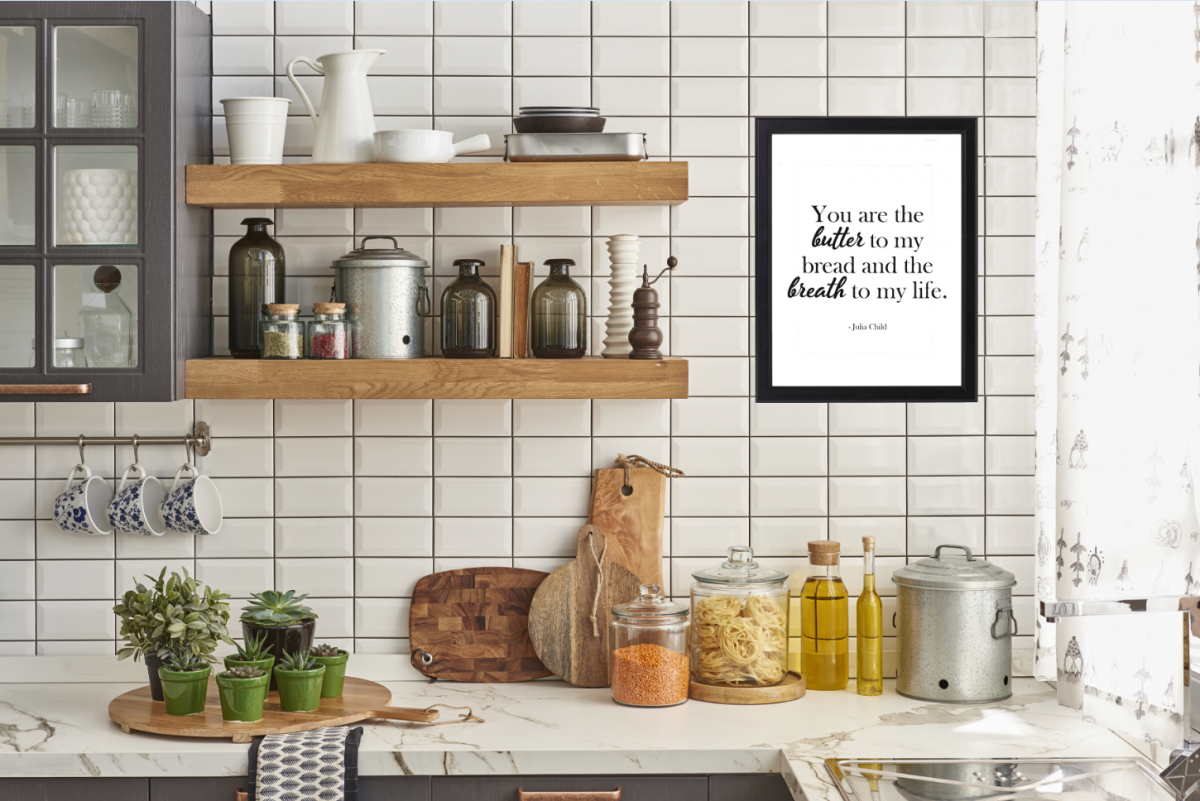 FREE KITCHEN PRINTABLES: You are the butter to my bread and the breath to my life. - Julia Child