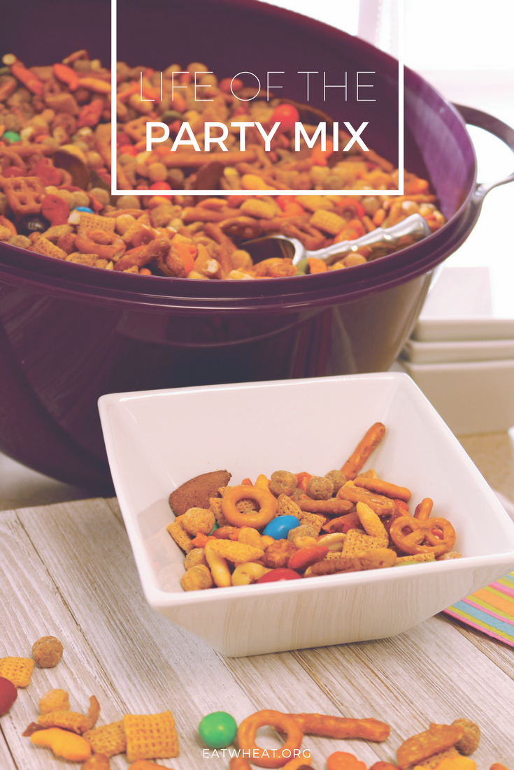 The Life of the Party Mix is the perfect snack mix for the Big Game, birthday parties, school snacks and so much more!