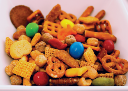 This snack mix has a little something for everyone
