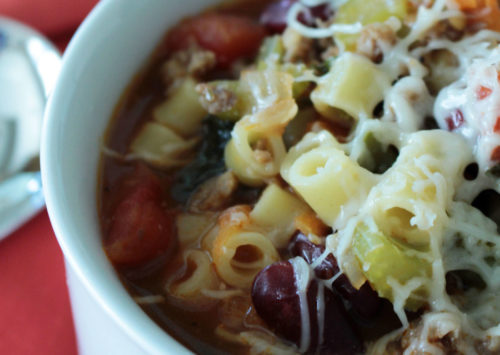 Photo: Nonna's One-Pot Italian Soup.