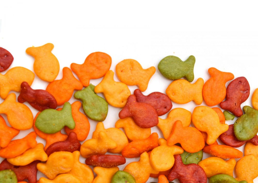 Photo: Goldfish crackers may contain wheat raised by the Brown family of Idaho.