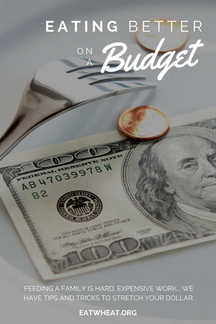 It's hard to maintain a budget while feeding the bottomless pits that are growing kiddos! We've got tips and tricks from a registered dietitian to help you stretch your $$!