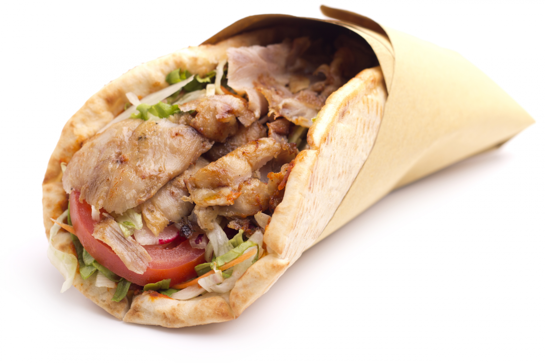 Photo: Grilled Chicken Pita.