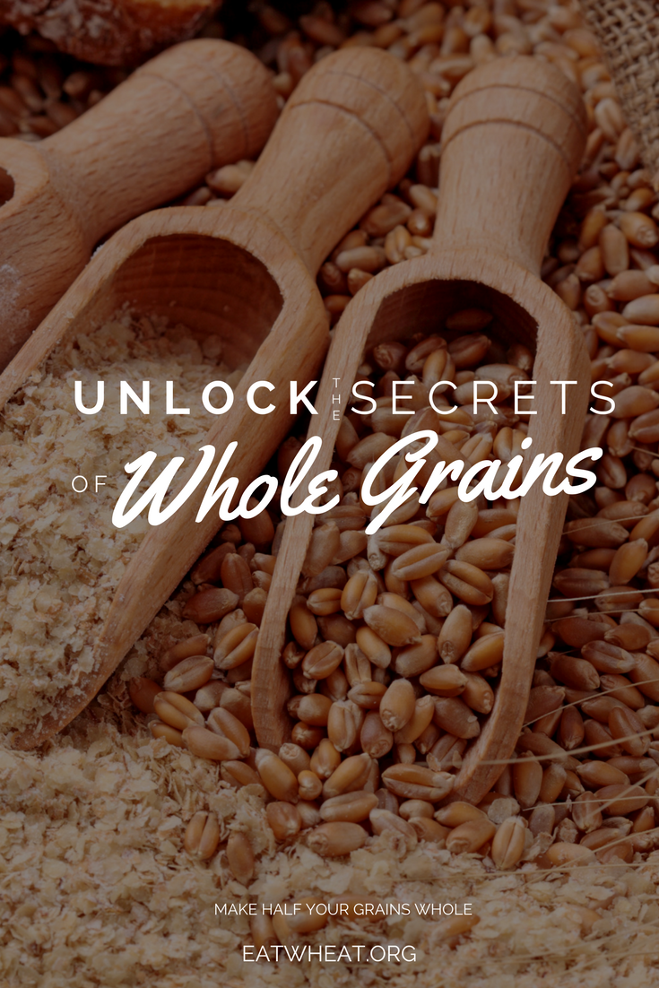 Whole grains are the secret to healthier living... But how can you make HALF of the grains you consume WHOLE? Check out these secrets from a dietitian!