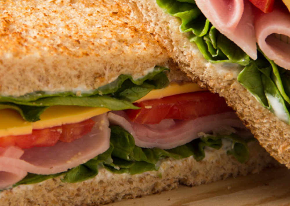 Photo: Healthy sandwich.