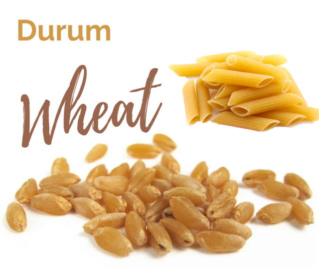 Durum wheat is one of the six classes of US wheat.