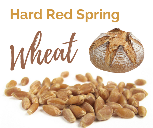 Hard Red Spring Wheat is one of the six classes of US wheat.