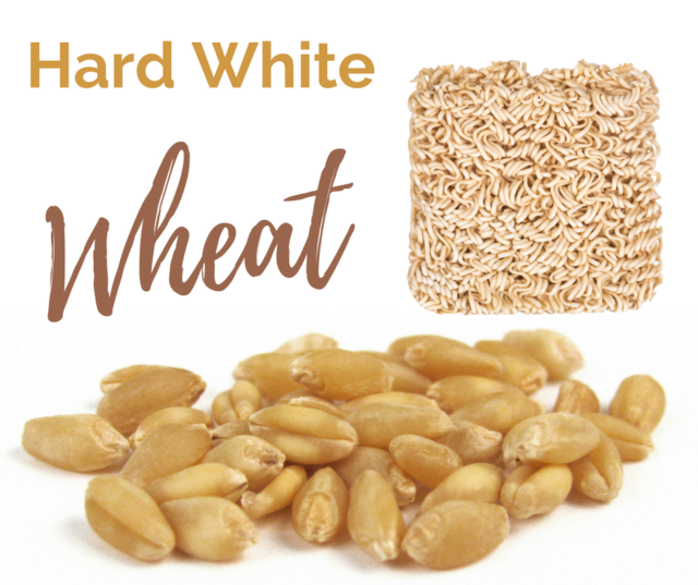 Hard White Wheat is one of the six classes of US wheat.