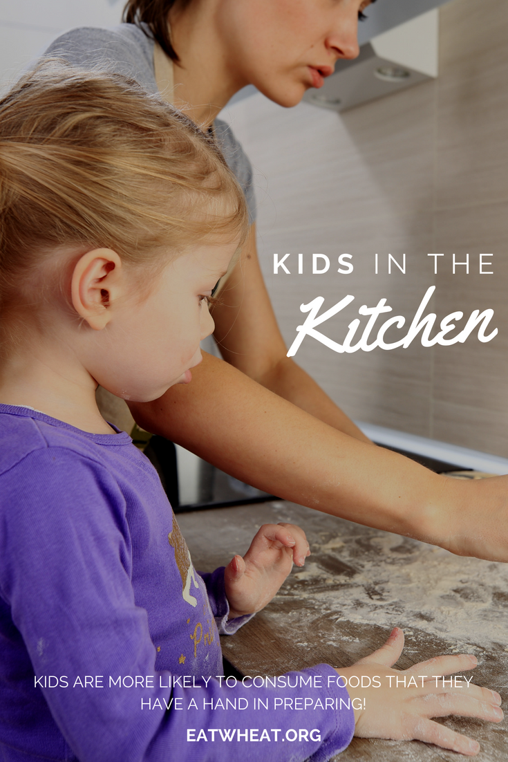 Kids are more likely to consume foods when they have a hand in making it!