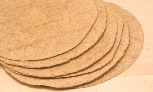 Photo: Whole wheat tortillas.