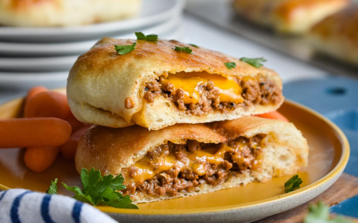 Cheeseburger Pockets