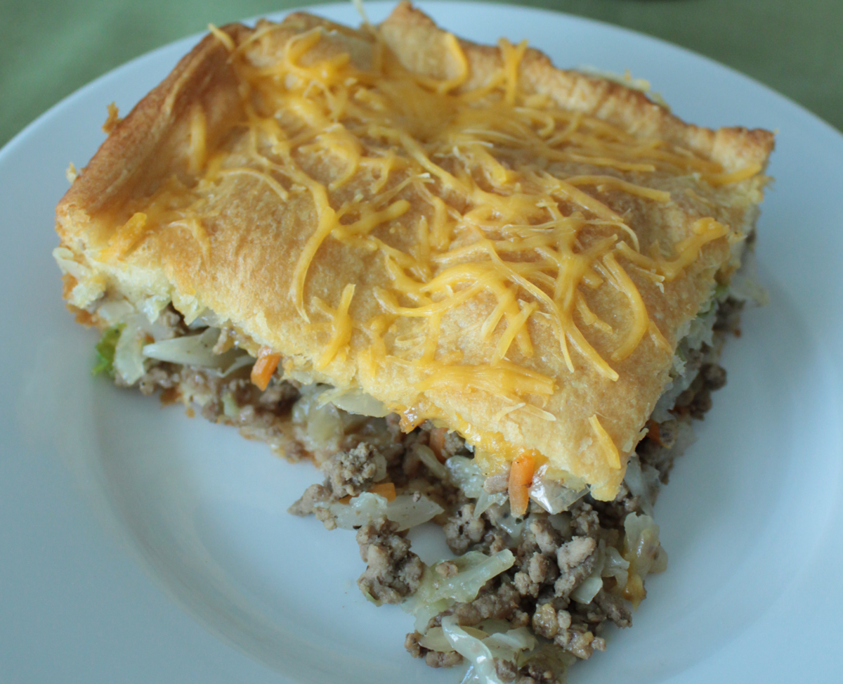 Main Dish Bierock Casserole With Crescent Crust Eat Wheat