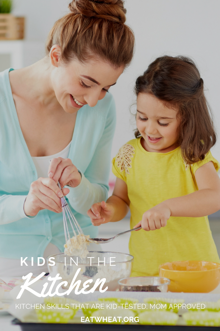 Want to get your kiddo comfortable in the kitchen? Check out these great tips and recipes from a registered dietitian (and mom!) to get your children excited about the kitchen!