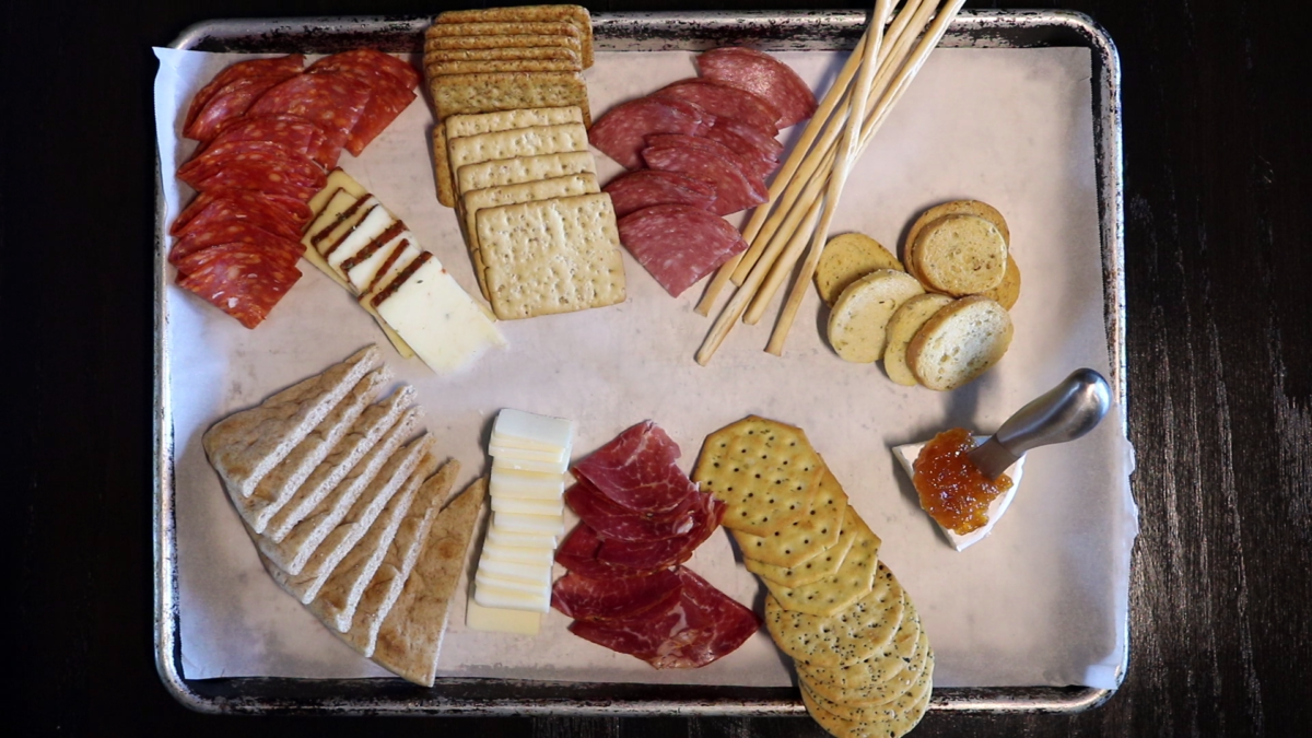 Photo: Charcuterie - Meats on tray.