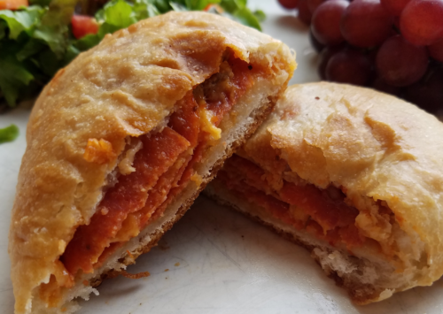 Photo: Pepperoni Pizza Pocket.