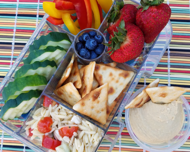 Photo: Portable meal ideas for summer - Lunchable.