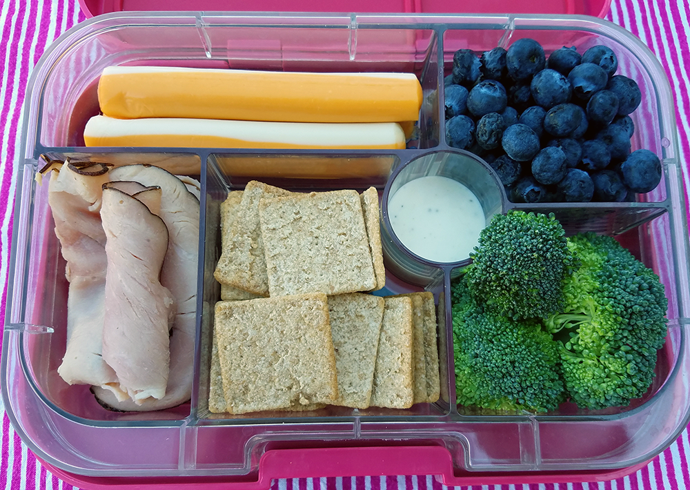 Photo: Back to school lunchable idea.