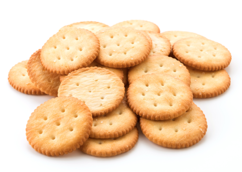Image: Snack crackers.