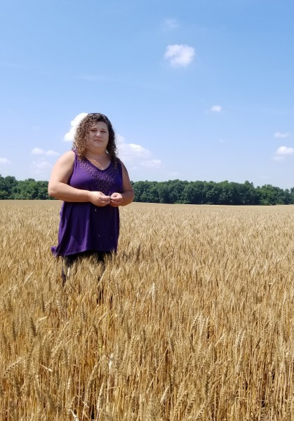 Lynn Moore, a farmer from Pittsburg, Kansas, is one of the 25,000 plus female farmers in Kansas. She runs a fourth generation farm with three different companies where they grow corn, beans and wheat.