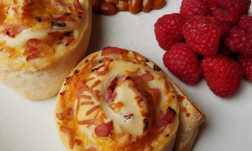 Photo: Ham and cheese pinwheels. Appetizer. Quick weeknight meal..
