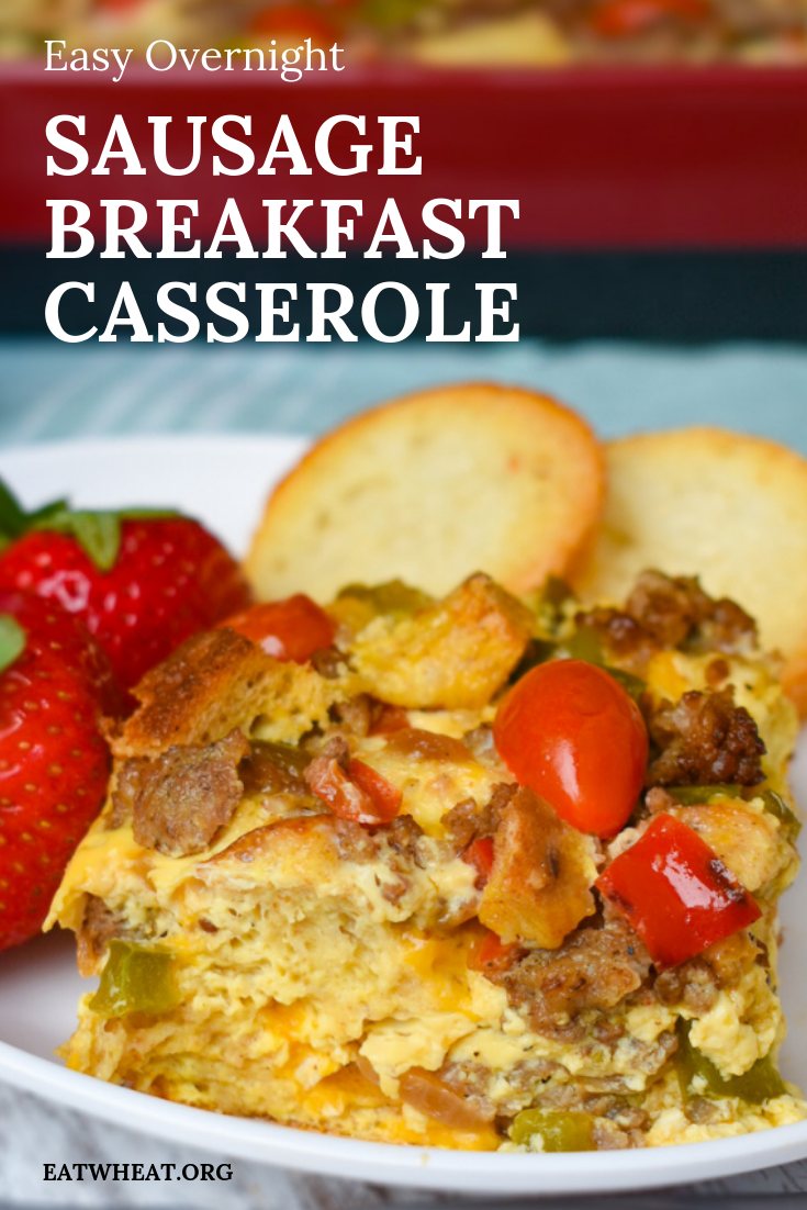 Easy Overnight Sausage Breakfast Casserole - EatWheat
