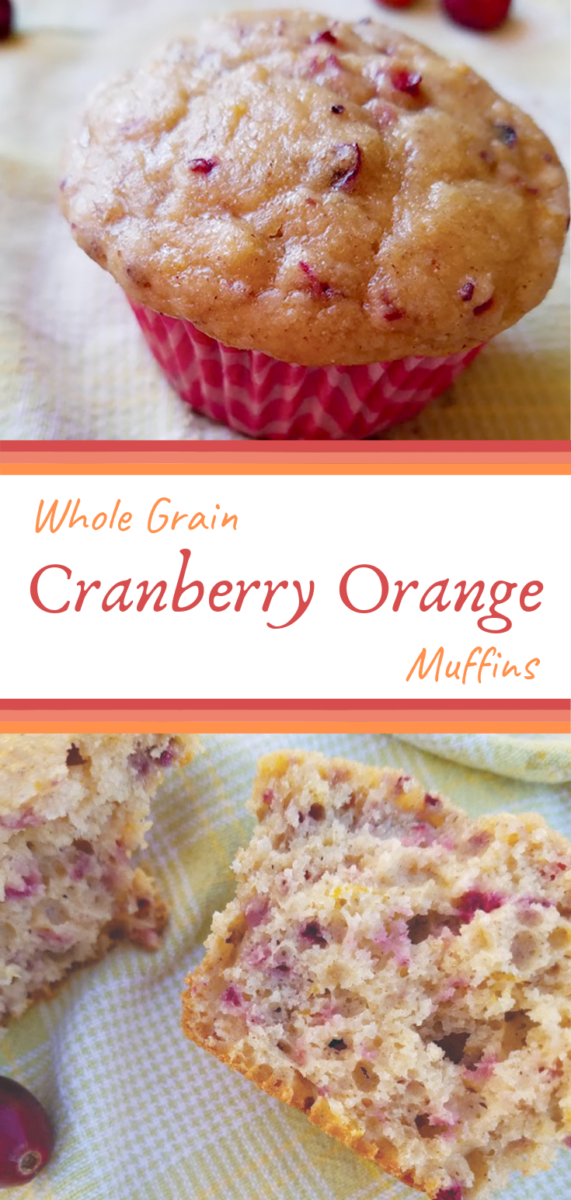 Start your day with these fluffy and tender muffins packed with 5 grams of protein and bursting with cranberry and orange flavor.