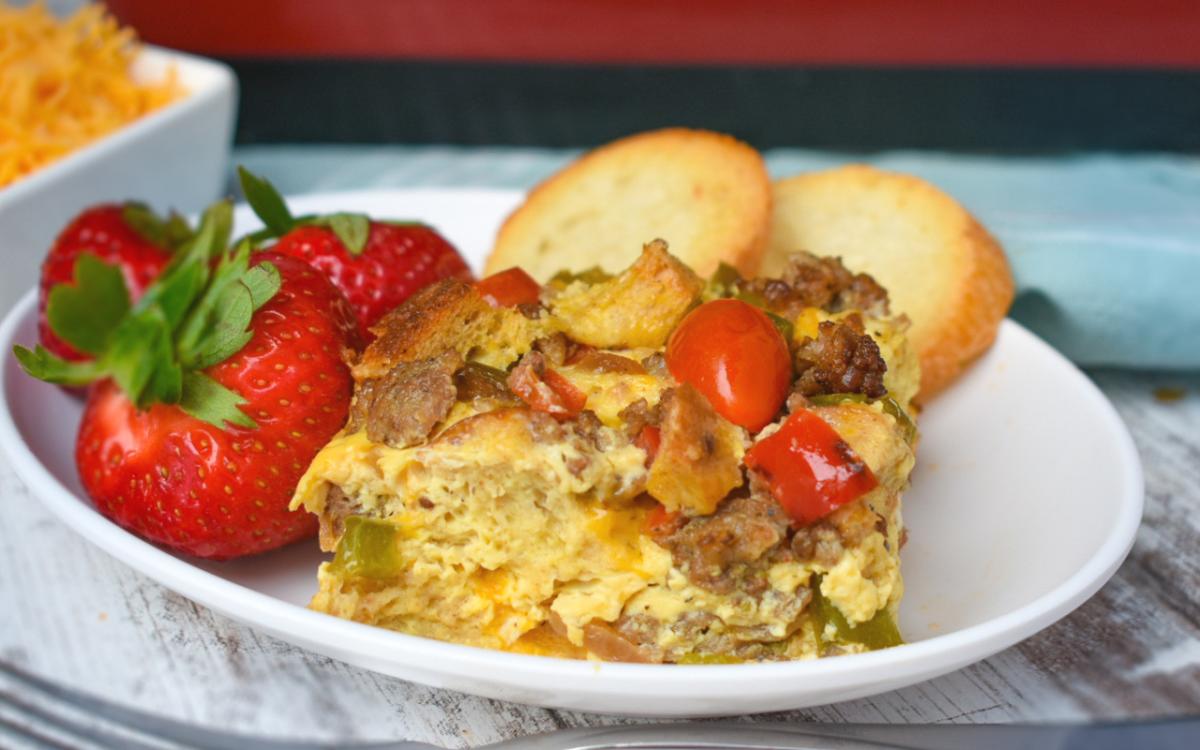 Easy Sausage Breakfast Casserole - EatWheat