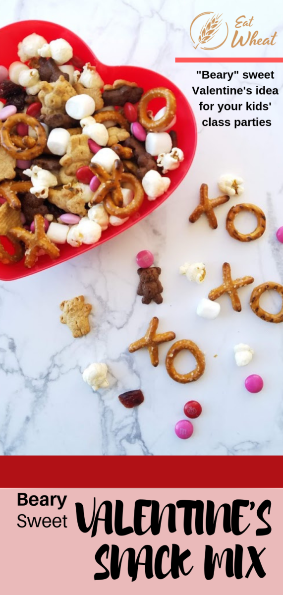 "Looking for the perfect Valentine's treat? ""Beary"" Sweet Valentine's Snack Mix is sure to be a crowd-pleaser for children and adults alike. The snack mix is simple and easy to make! 