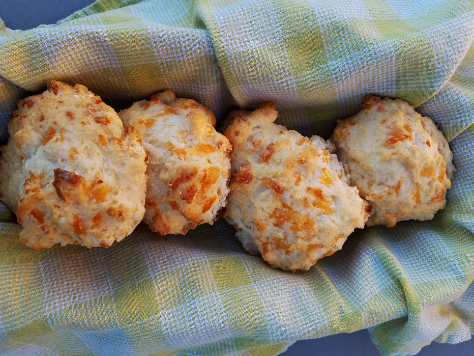 Photo: Shortcut Garlic Cheddar Biscuits .
