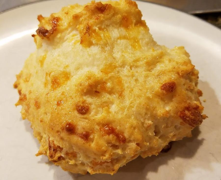 Photo: Shortcut Garlic Cheddar Biscuits .
