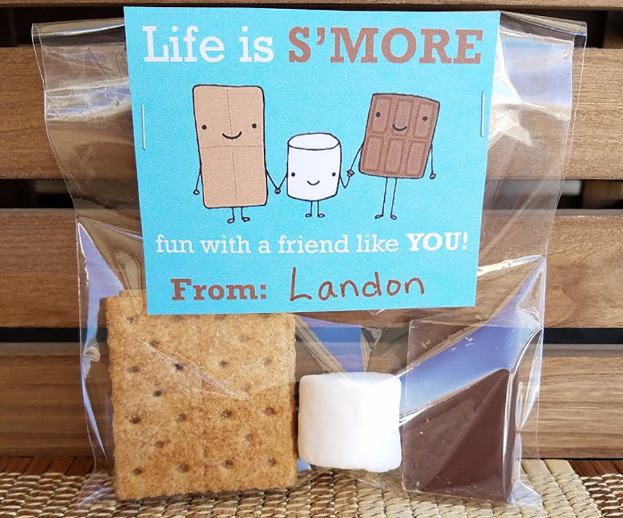 Photo: Life is s'more fun Valentines.