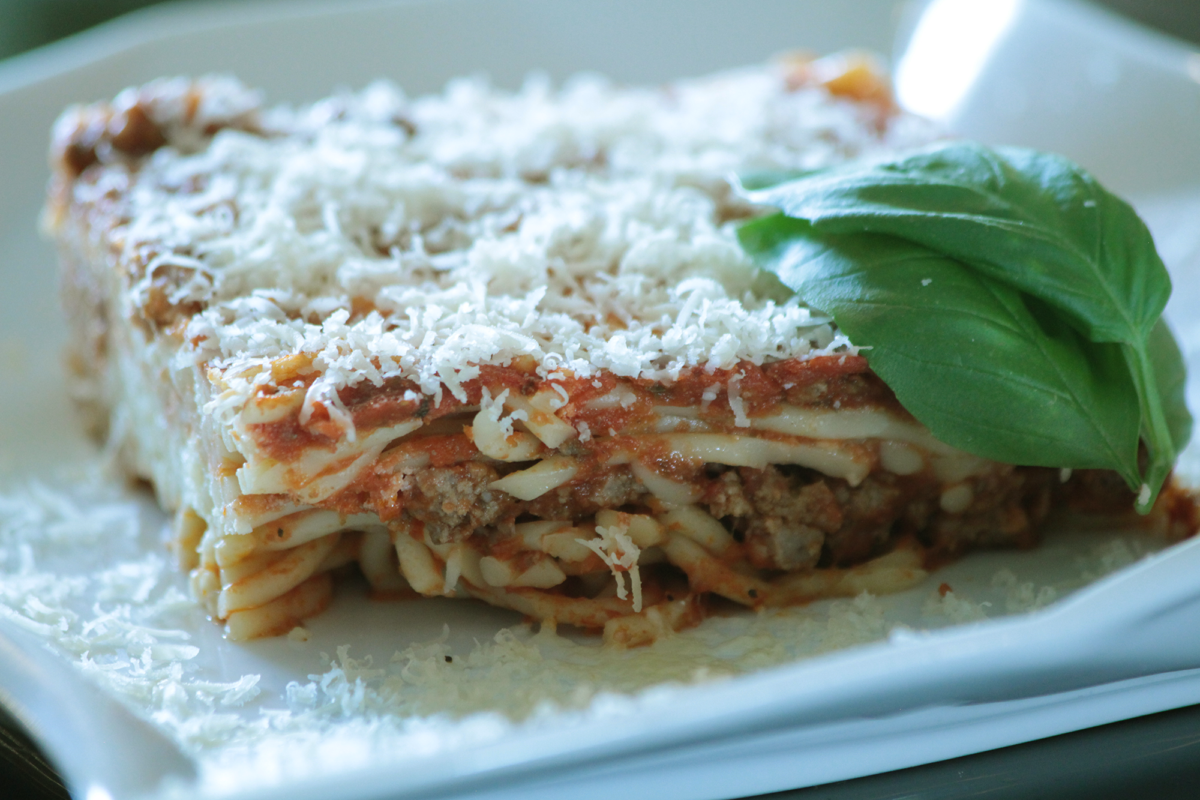 Photo: Layered Italian Casserole.