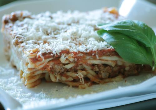 Photo: Layered Italian Casserole.