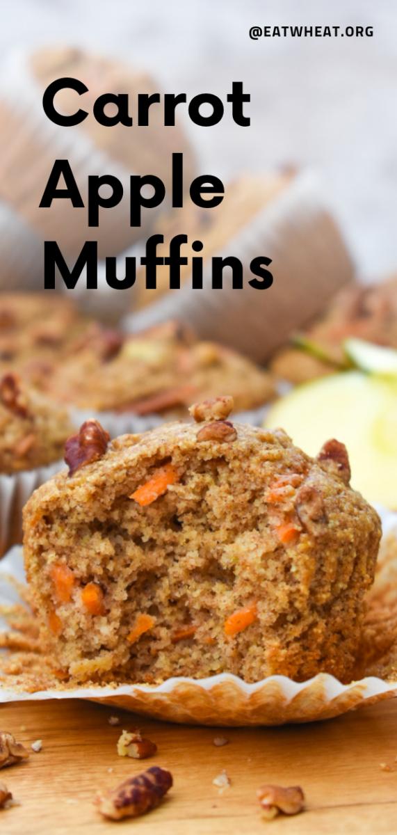 Carrot Apple Muffins EatWheat
