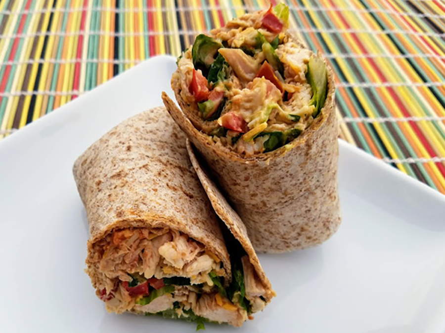 Mexi-Cali Rotisserie Chicken Wraps | EatWheat