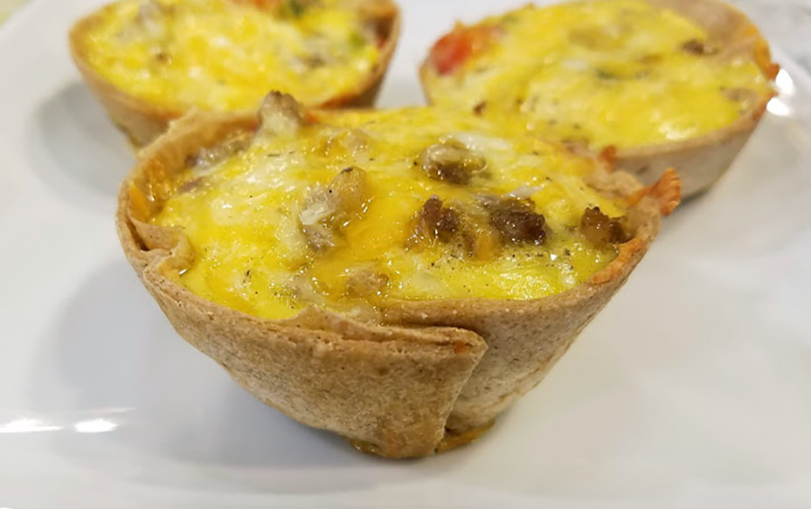 Tortilla Egg Cups