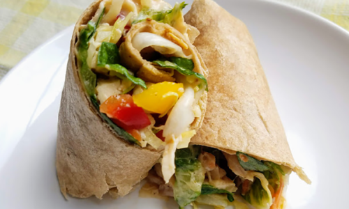 Asian Chicken Wrap