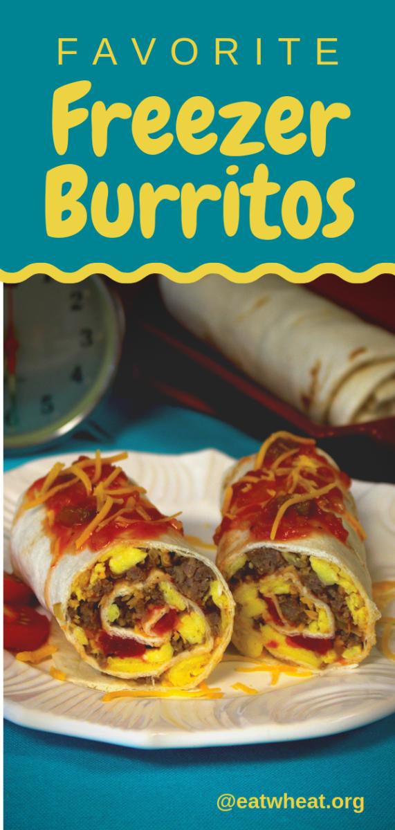 Favorite Freezer Burritos.
