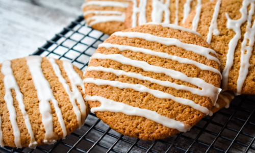 Photo: Whole Grain Pumpkin Spice Pudding Cookies.
