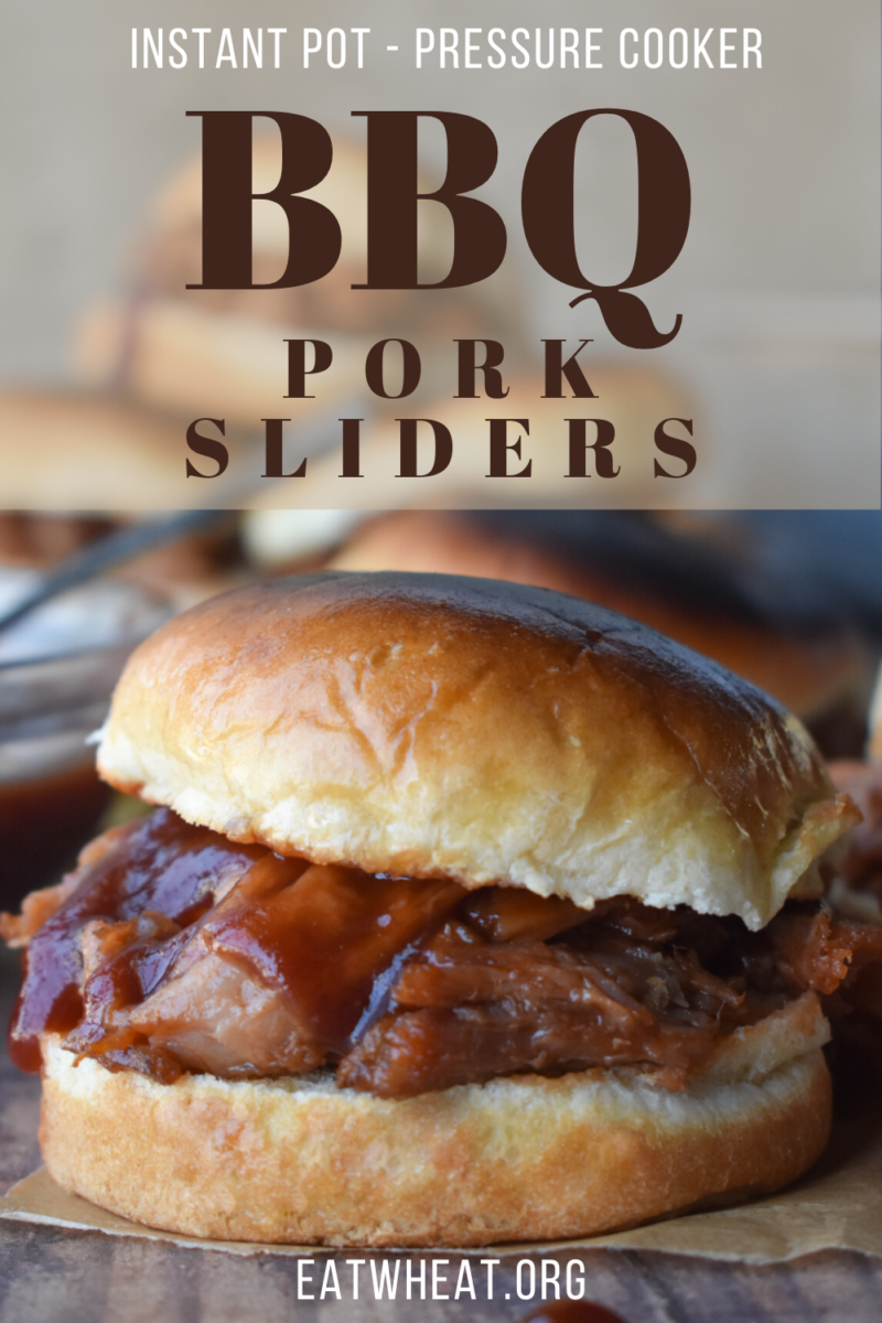 Image: BBQ Pork Sliders.