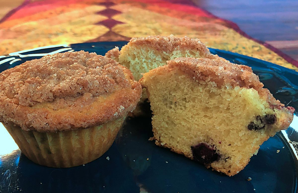 These quick blueberry muffins are a delicious treat!