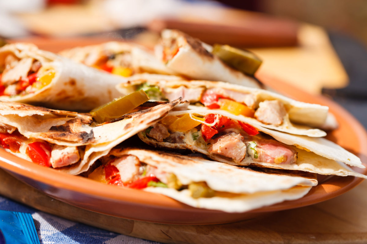 Fresh Chicken Quesadillas